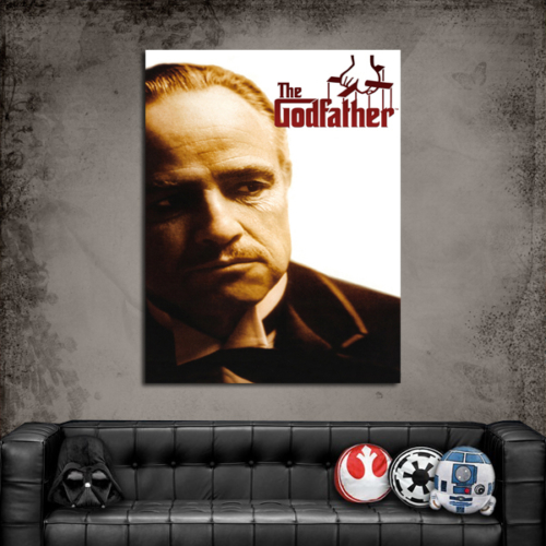Artredgallery Film Afişleri The Godfather Tablo
