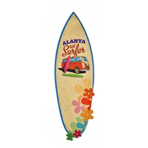 Purupa Sörf Tahtası Duvar Obje Hediyelik