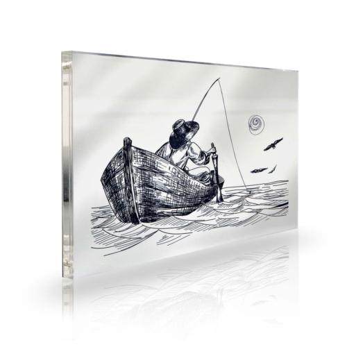 Purupa Balıkçı Dekoratif Obje Hediyelik