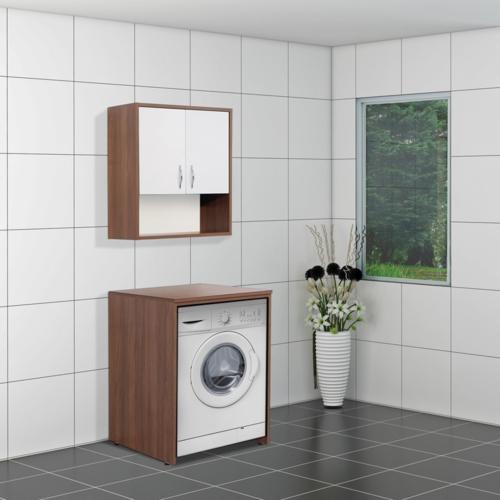 Boncuk Banyo Skyla 65 Cm Çamaşır Makinesi Dolabı