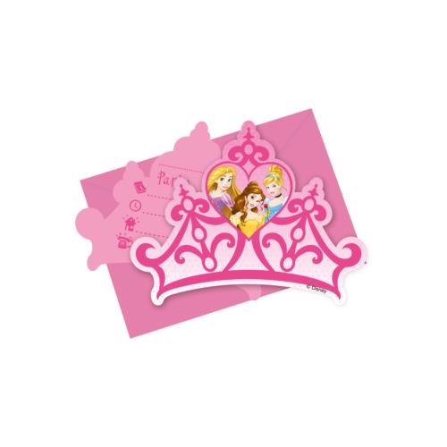 KullanAtMarket Prenses Düsler Davetiye - 6 Adet
