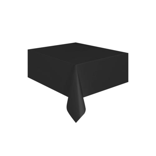 KullanAtMarket Siyah Plastik Masa Örtüsü -1 Adet