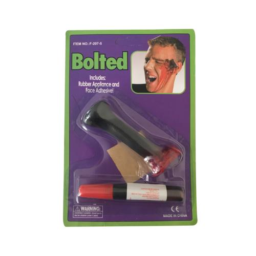 KullanAtMarket Kanlı Şaka Bıçak Sapı Yara izi - 2 Adet