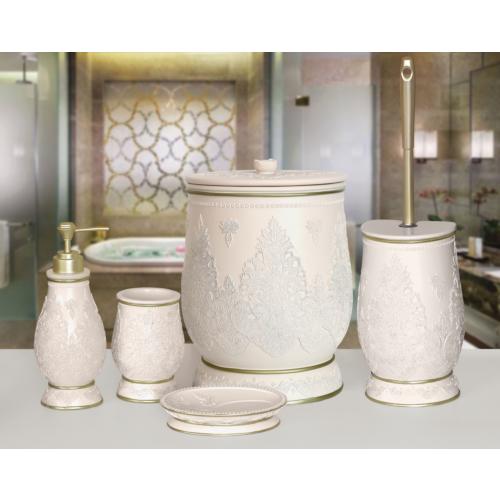 NEW MATİLDA 5 Prç Banyo Seti Pudra Banyo Seti 5 parça