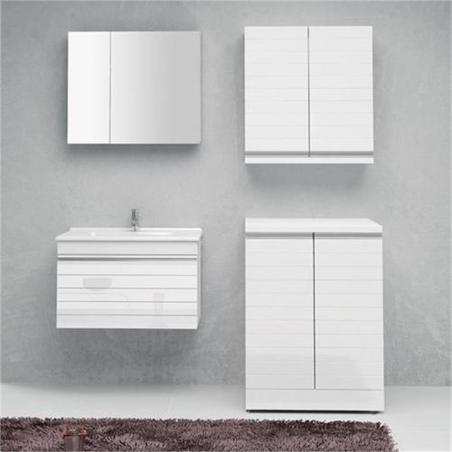 Petek Artes 70 Cm Çamaşır Dolabı Üst Modül Parlak Beyaz