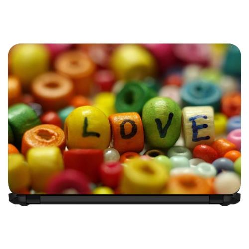 15.6 INC Notebook Sticker Aşk Boncuğu