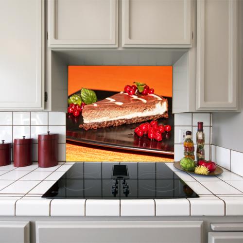Kokmaz Bulaşmaz Silinebilinir Mutfak Pasta Sticker 58 x 52 cm