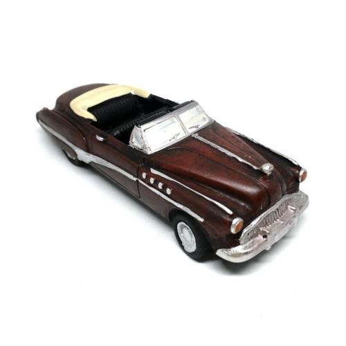 Decotown Klasik Üzeri Açık Kırmızı Model Araba