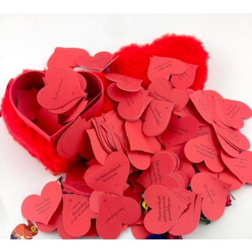 Pratik Romantik Peluş Aşk Kutusu