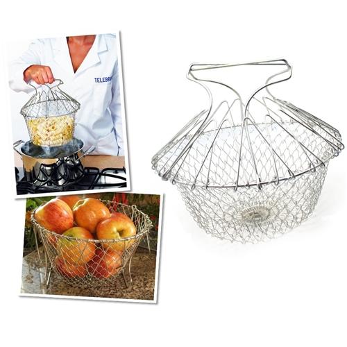 Original Boutique Chef N Basket Metal Haşlama (Tarım Bakanlığı Onaylı)