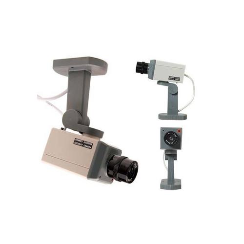 Pratik Hareket Sensörlü Caydırıcı Güvenlik Kamerası