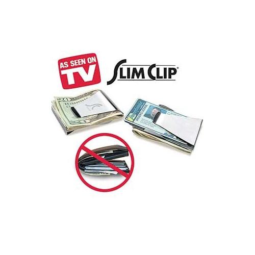 Pratik Paslanmaz Çelik Cüzdan Slim Clip