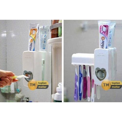 Original Boutique Vantuzlu Diş Macunu Sıkma Makinesi İsrafa Son