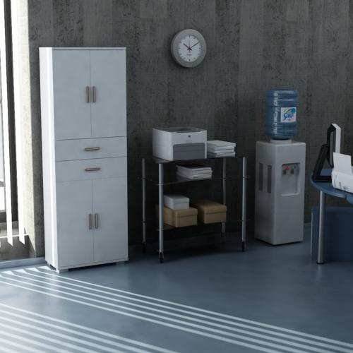 Sanal Mobilya Sorrento Çok Amaçlı Ofis Dolabı G1-Ç4-K4-K4