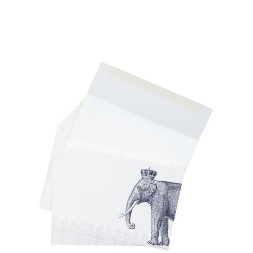 Beymen Home Alexa Pulitzer Royal Elephant A7 Notes10 Lacivert Not Defteri