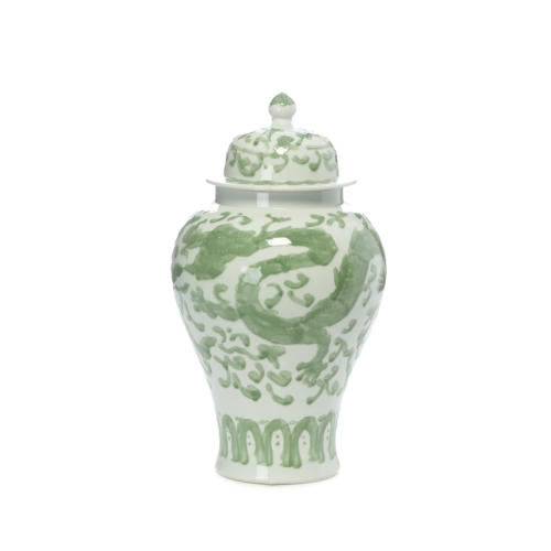 Beymen Home Legend Of Asia Celadon Dragon Lotus Tem Çok Renkli Vazo