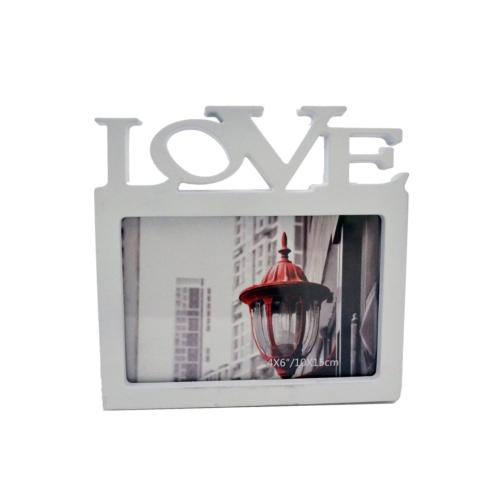 Resim Çerçevesi Love Beyaz