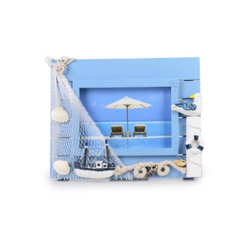 iHouse 00564 Fotoğraf Çerçevesi-Mavi