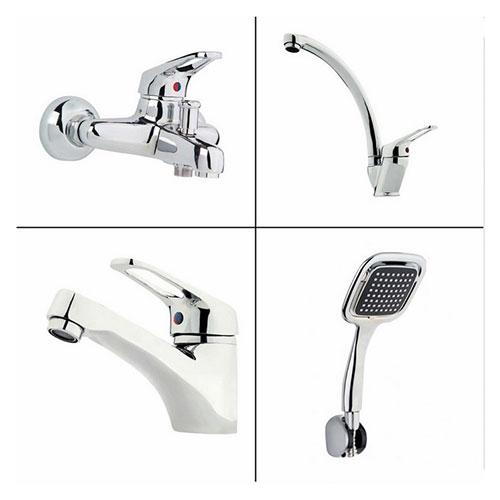 Erce Banyo + Lavabo + Evye Bataryası + Duş Takımı