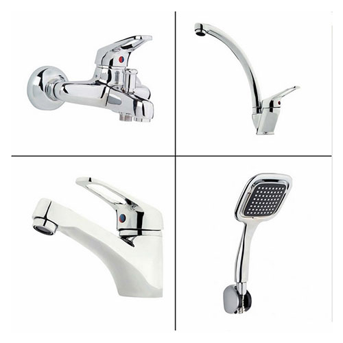 Erce Banyo + Evye + Lavabo Bataryası + Duş Takımı