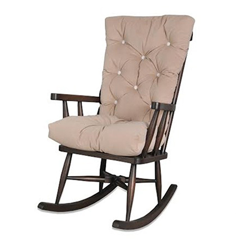Asedia Teksas Sallanan Sandalye Eskitme Ceviz