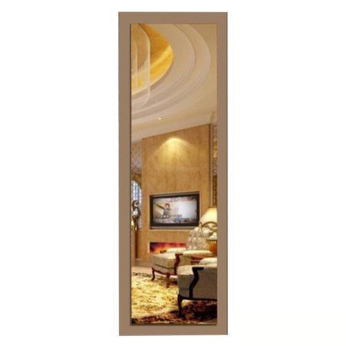 Boy Aynası Düz Çerçeve Altın