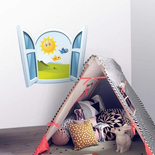 DekorLoft Çocuk Pencere Sticker PNC-800
