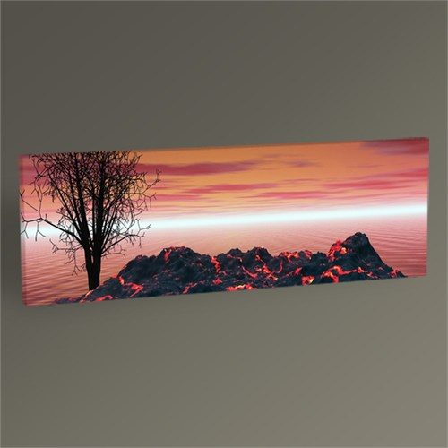 Tablo 360 Volcano And Black Tree Tablo 120X40