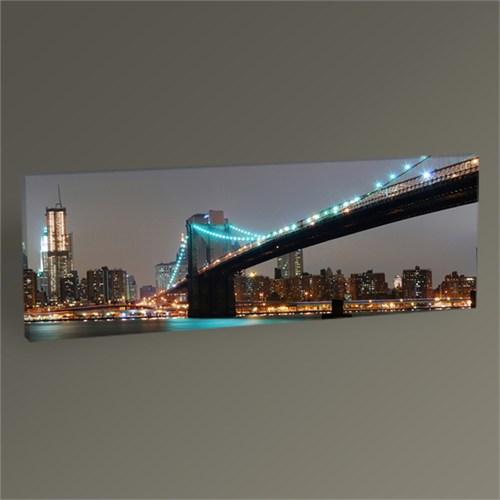 Tablo 360 Brooklyn Bridge And Manhattan Panaroma Tablo 60X20