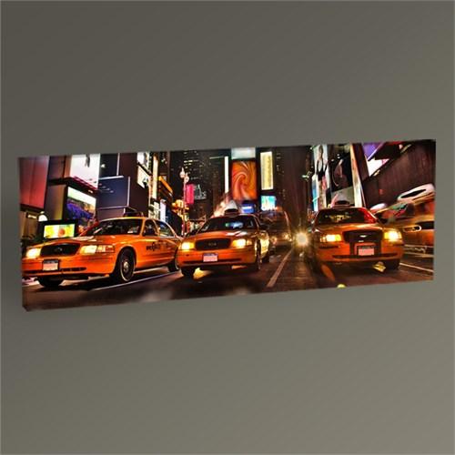 Tablo 360 New York Times Meydanı Panaroma Tablo 60X20
