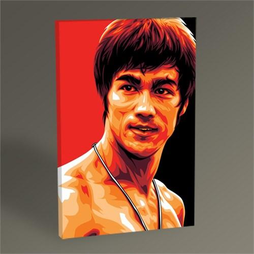 Tablo 360 Bruce Lee Pop Art Tablo 45X30