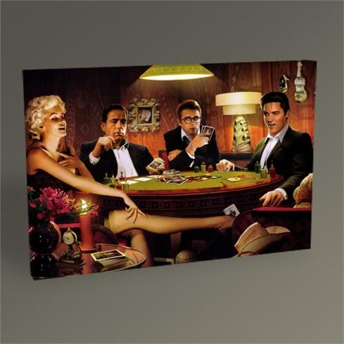 Tablo 360 Celebrities Play Poker Tablo 45X30