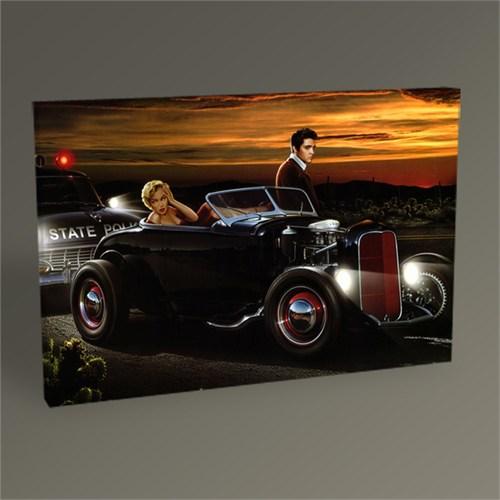 Tablo 360 Marilyn Monroe And Elvis Presley Tablo 45X30