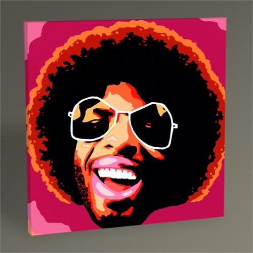 Tablo 360 Jim Hendrix Pop Art Tablo 30X30