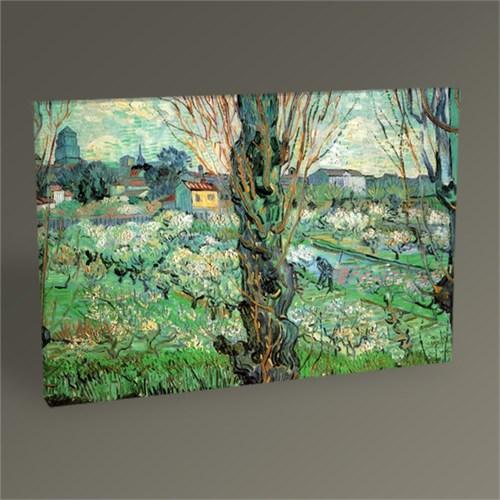 Tablo 360 Vincent Van Gogh-Blick Auf Aries 1889 Tablo 45X30