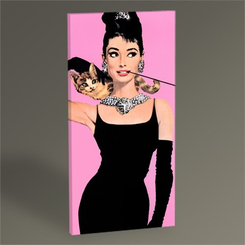 Tablo 360 Audrey Hepburn Pop Art Tablo 60X30