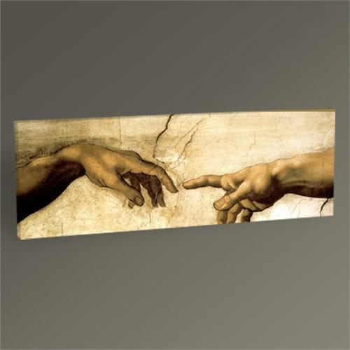 Tablo 360 Michelangelo Buonarroti Yaratılış Tablo 60X20