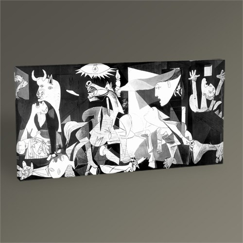 Tablo 360 Pablo Picasso Guernica Tablo 60X30
