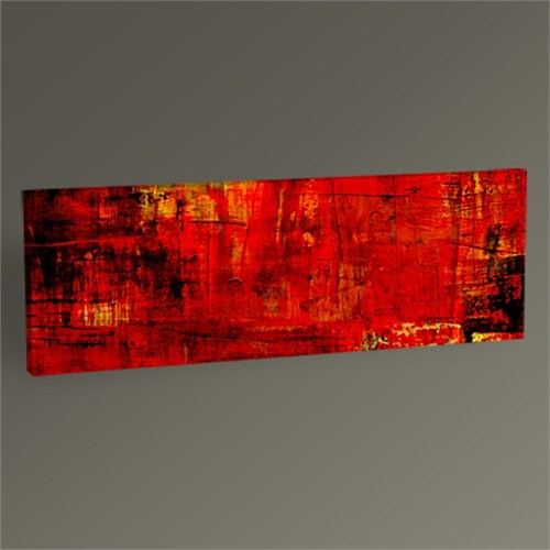 Tablo 360 Red Abstract Tablo 60X20