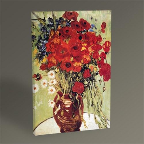 Tablo 360 Vincent Van Gogh Vase Avec Marguerites Et Coquelicots Tablo 45X30