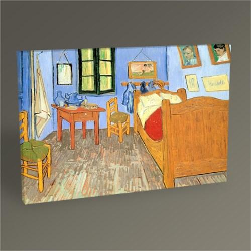 Tablo 360 Vincent Van Gogh-The Bedroom At Arles Tablo 45X30
