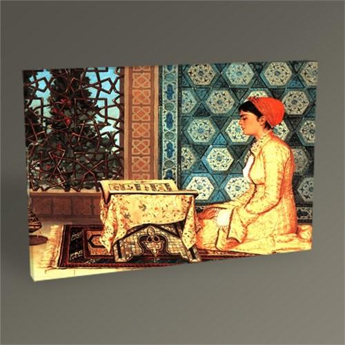 Tablo 360 Osman Hamdi Kuran Okuyan Kız Tablo 45X30