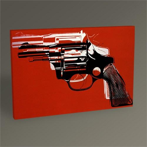 Tablo 360 Andy Warhol Guns Tablo 45X30