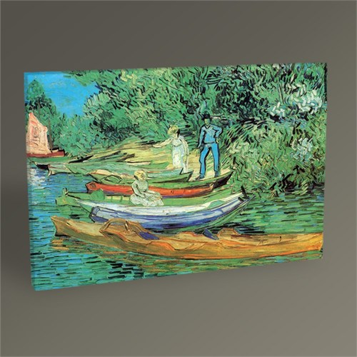 Tablo 360 Vincent Van Gogh Boats To Rent Tablo 45X30