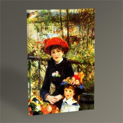 Tablo 360 Pierre Auguste Renoir On The Terrace Tablo 45X30