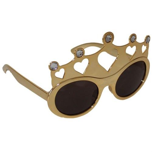 Pandoli Kral Tacı Şekilli Kral Gözlüğü - Altın