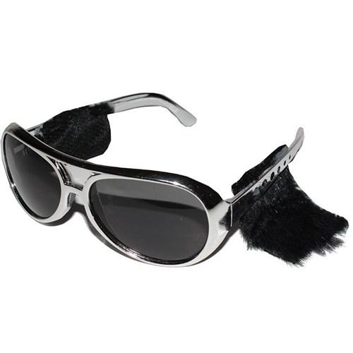 Pandoli Gümüş Elvis Presley Gözlüğü Favorili