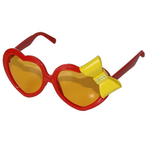 Pandoli Kurdelalı Kalpli Parti Gözlüğü - Kırmızı
