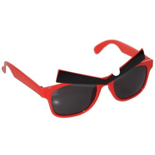 Pandoli Angry Birds Kaşlı Parti Gözlüğü - Kırmızı