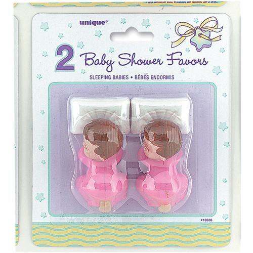 Partisepeti Sleeping Babies Pink Favors - 2 Adet